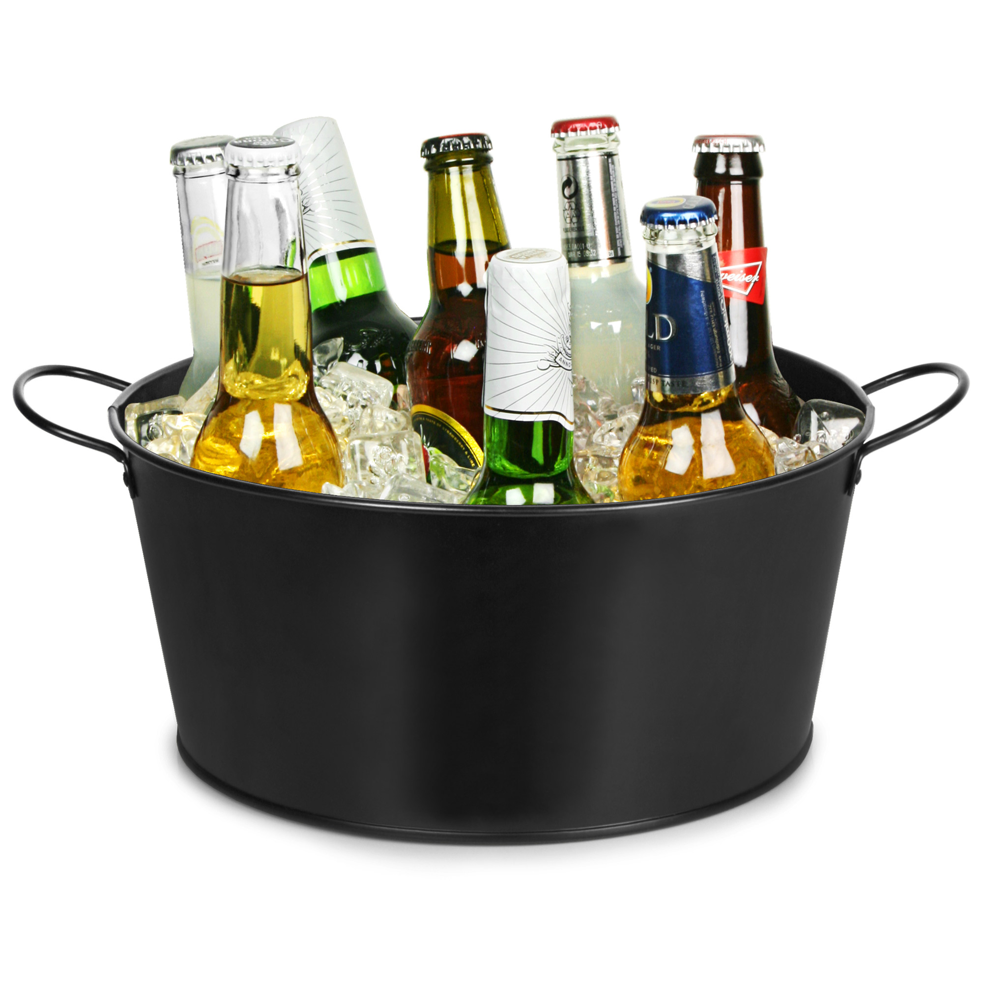 barrel wine beverage reviews bash silver crate and tub