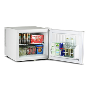 ChillQuiet Mini Fridge 17ltr White with European Plug
