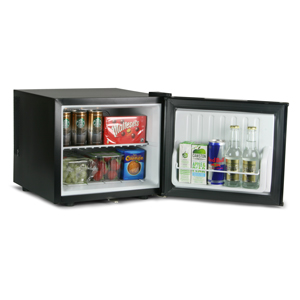 ChillQuiet Mini Fridge 17ltr Black with European Plug