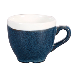 Churchill Monochrome Sapphire Blue Espresso Cups 3.5oz / 100ml