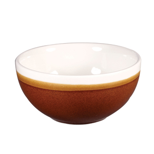 Churchill Monochrome Cinnamon Brown Bowls 5inch / 13cm