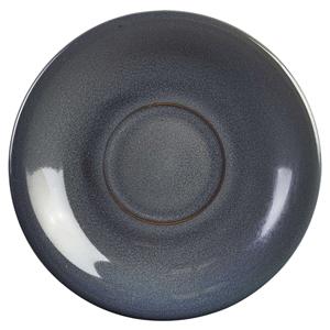 Terra Stoneware Rustic Blue Saucers 5.9inch / 15cm