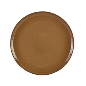 Terra Stoneware Rustic Brown Pizza Plates 13.25inch / 33.5cm