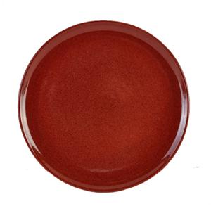 Terra Stoneware Rustic Red Pizza Plates 13.25inch / 33.5cm