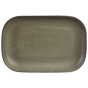 Terra Stoneware Antigo Rectangular Plates 9.5inch / 24cm
