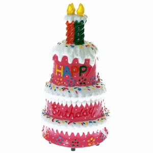 Singing & Swinging Birthday Cake