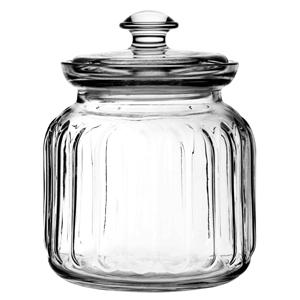 Viva Ribbed Storage Jar 31oz / 895ml