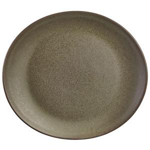 Terra Stoneware Antigo Oval Plate 9.8inch / 25cm