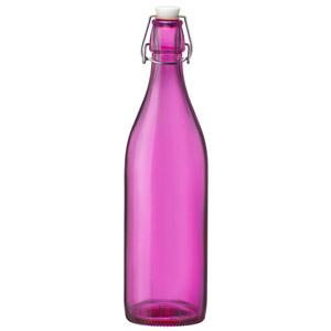 Giara Swing Top Bottle Pink 1ltr