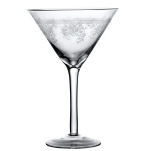 Fleur Martini Glasses 10oz / 290ml