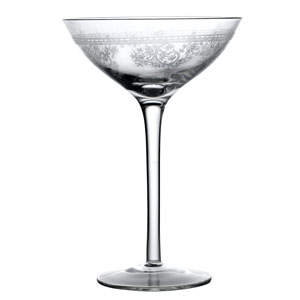 Fleur Champagne Coupe Glasses 9oz /270ml