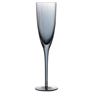 Decco Smoke Luster Champagne Flutes 7oz / 200ml