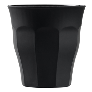Picardie Smooth Touch Tumblers Black 8.8oz / 250ml