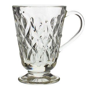 Lyonnais Glass Mugs 9oz / 260ml