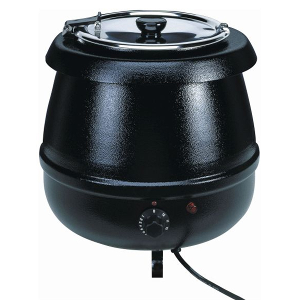 Electric Soup Warmer ~ Litre electric soup kettle at drinkstuff