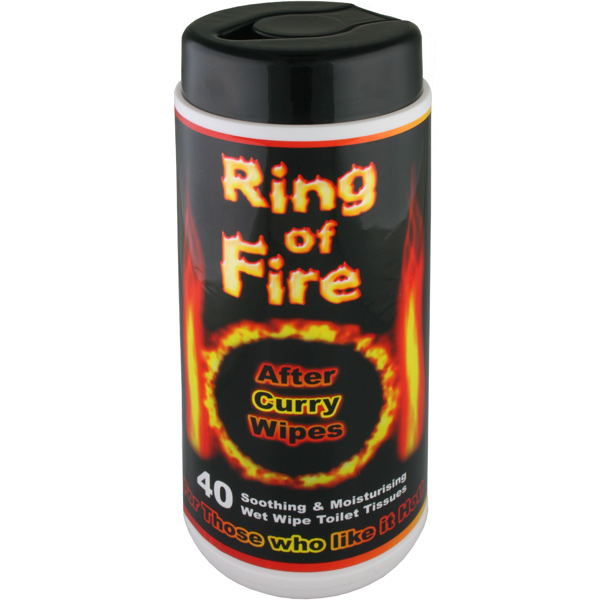 Ring Of Fire After Curry Wipes Drinkstuff