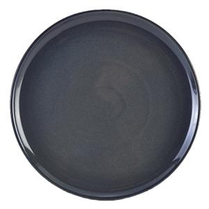 Terra Stoneware Rustic Blue Pizza Plates 13.25inch / 33.5cm