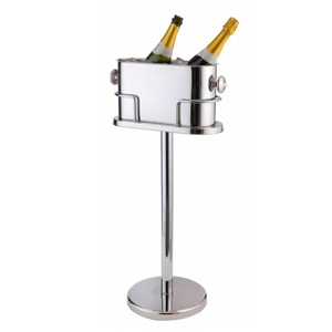 Double Champagne Cooler with Stand