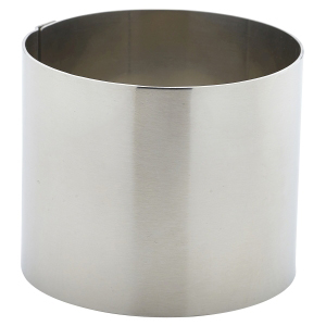 Stainless Steel Mousse Ring 7 x 6cm