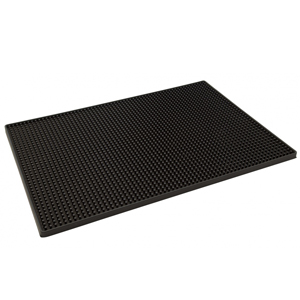Beaumont Black Service Mat 12 x 18 inch