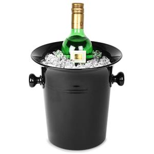 Black Acrylic Wine & Champagne Bucket