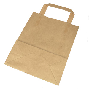 Medium Kraft Takeaway Bag