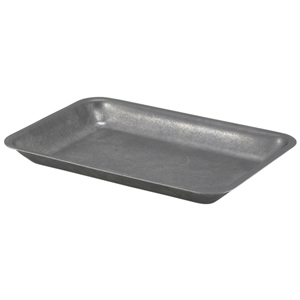 Vintage Steel Serving Tray 20 x 14cm