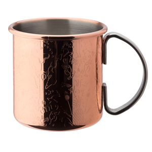 Utopia Chased Copper Mug 17oz / 480ml