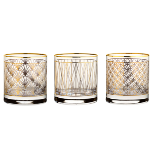 Utopia Coco Gold Tumblers 11.5oz / 330ml