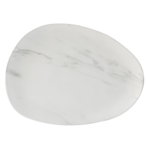 White Pebble Platters 41 x 30cm