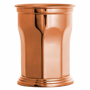 Copper Octagonal Julep Cups 14.5oz / 410ml