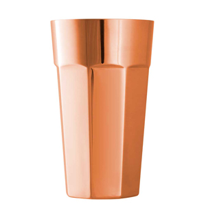 Copper Octagonal Boston Cup 17.5oz / 500ml