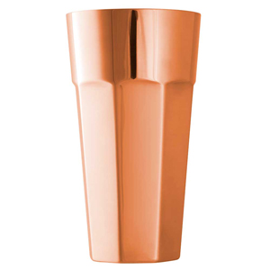 Copper Octagonal Boston Shaker Can 25oz / 700ml