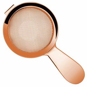 Copper Biloxi Fine Strainer 14cm