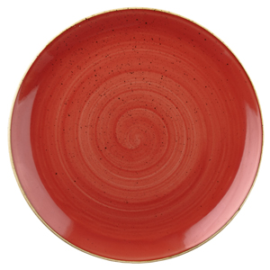 Churchill Stonecast Berry Red Coupe Bowl 7.25inch / 18.2cm