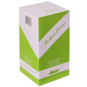 Biodegradable Bendy Straws Green 8inch