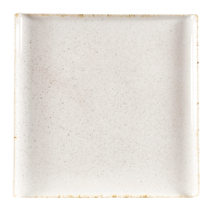Churchill Stonecast Hints Barley White Square Buffet Trays 11.9inch / 30.3cm