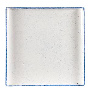 Churchill Stonecast Hints Indigo Square Buffet Trays 11.9inch / 30.3cm