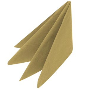 Swantex Gold Napkins 33cm 3ply