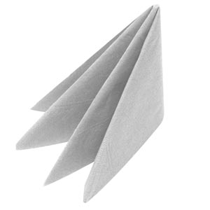 Swantex Silver Napkins 33cm 3ply