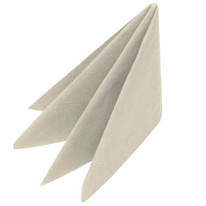 Swantex Devon Cream Cocktail Napkins 25cm 2ply