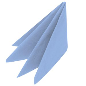Swantex Sky Blue Napkins 40cm 3ply