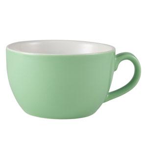 Royal Genware Bowl Shaped Cup Green 6oz / 170ml