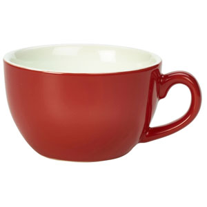 Royal Genware Bowl Shaped Cup Red 6oz / 170ml