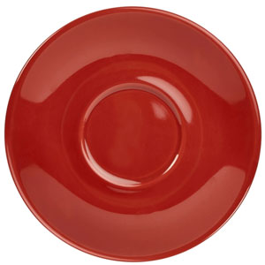 Royal Genware Saucer Red 5inch / 13.5cm