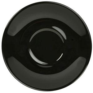 Royal Genware Saucer Black 5inch / 13.5cm