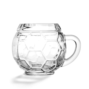 Glass Football Mug 14oz / 400ml