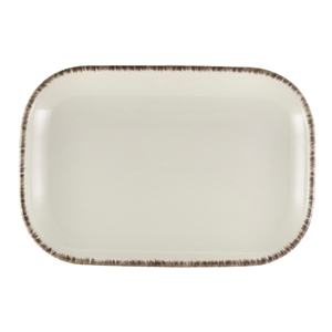 Terra Stoneware Sereno Grey Rectangular Plate 11.4inch / 29cm