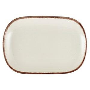 Terra Stoneware Sereno Brown Rectangular Plate 9.4inch / 24cm