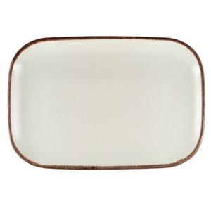 Terra Stoneware Sereno Brown Rectangular Plate 13.5inch / 34.5cm